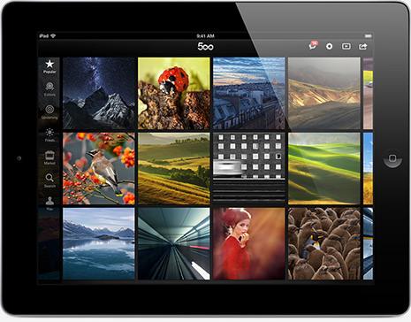 500Px iPad-App | by 500Px.com
