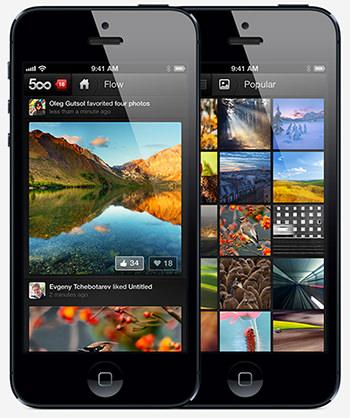 500Px iPhone-App | by 500Px.com