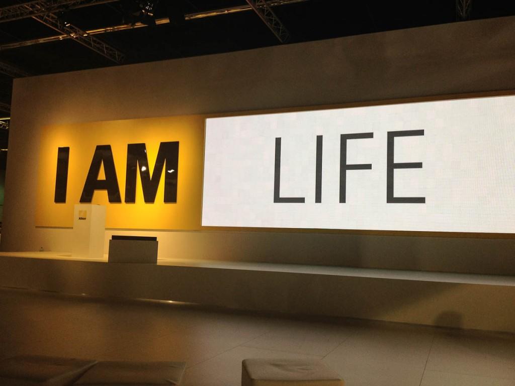 Nikon Bühne auf der Photokina 2012 | Foto: Ralf Wiechers