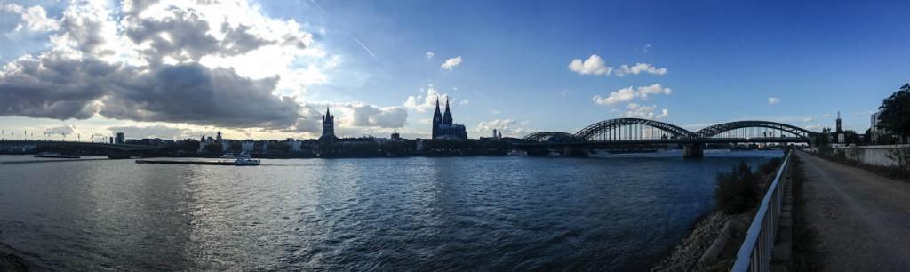 Blick über Köln während der Photokina 2012 | Foto: Ralf Wiechers