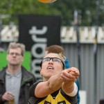 Jana Köhler hat den Ball fest im Blick