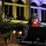 Alexander Hopff an der Orgel