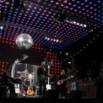 Gerrit Hoss und Band auf der großen Bühne beim Santa Pauli