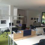 CoWorkingSpace mit professionellen Möbeln