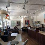 Gemütliches Cafe im CoWorkingSpace
